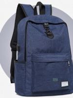 Back pack(กระเป๋าเป้ สะพายหลัง) BA081 สีน้ำเงิน พร้อมส่ง