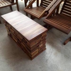 กล่องไม้โต๊ะกลาง