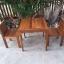 ชุดโต๊ะเก้าอี้แก่นจันทร์ 2 ที่นั่ง thumbnail 3