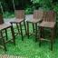 เก้าอี้บาร์พนักพิงไม้วอลนัท thumbnail 3