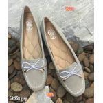 รองเท้าคัทชู ส้นแบนทรง loafer แต่งโบว์ด้านหน้าสวยเก๋ ทรงสวย หนัวนิ่ม พื้นบุนิ่ม พื้น ยางอย่างดียืดหยุ่น ใส่สบาย แมทสวยได้ทุกชุด (591250)