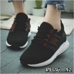 รองเท้าผ้าใบแฟชั่น แต่งลายสวยเท่ห์สไตล์เกาหลี วัสดุอย่างดี ใส่เที่ยว ออกกำลังกาย ใส่สบาย แมทสวยได้ทุกชุด