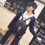 กระเป๋าเป้แฟชั่น สไตล์กุชชี่ แบบอินเทรนด์ ขนาด 10 นิ้ว สายสะพายปรับได้