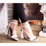 รองเท้าแฟชั่น ส้นสูง รัดข้อ สวยเรียบเก๋ หนังนิ่ม ทรงสวย ส้นสูงประมาณ 4 นิ้ว ใส่สบาย แมทสวยได้ทุกชุด