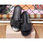 รองเท้าแตะแฟชั่น แบบสวม แต่งโซ่สวยเก๋สไตล์จีวองชี วัสดุอย่างดี พื้นยางนิ่มยืดหยุ่น ใส่สบาย แมทสวยได้ทุกชุด (RU25)