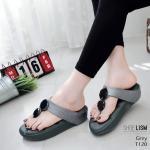 รองเท้าแตะแฟชั่น เพื่อสุขภาพ แบบหนีบ แต่งเพชรคลิสตัลสวยเก๋ พื้นโซฟานิ่ม ใส่สบาย แมทสวยได้ทุกชุด (T120)