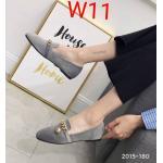 รองเท้าคัทชู ส้นแบน หนังบุกำมะหยี่แต่งโซ่ทองสวยหรูน่ารัก ทรงสวย หนังนิ่ม ใส่สบาย แมทสวยได้ทุกชุด (2015-180)