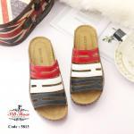 รองเท้าแฟชั่น ส้นเตารีด แบบสวม สไตล์เพื่อสุขภาพ งานสวย หนังนิ่มอย่างดี ออกแบบตัดสีได้สวยเกร๋ chic น้ำหนักเบา ทรงสวยมาก ใส่สบาย แมทสวยได้ทุกชุด (5813)