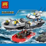 เลโก้จีน LELE.39056 ชุด City : Police Patrol Boat