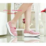 รองเท้าผ้าใบเพื่อสุขภาพ Style Tom ผสมผสานระหว่างรองเท้าลำลองกับรองเท้า ผ้าใบเพื่อสุขภาพ ช่วยลดอาการปวดหลัง พื้นสูง 2 นิ้ว ถูกออกแบบมาเพื่อกระจาย น้ำหนัก วัสดุทำจากยางเกรดคุณภาพระดับพรีเมื่ยม ขึ้นรูปเป็นนชิ้นเดียวกัน จึงไม่ยุบ ไม่เสียทรง สวย เท่ห์ ใส่สบายท
