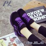 รองเท้าผ้าใบแฟชั่น สไตล์เกาหลี เสริมส้น สวยเก๋ วัสดุอย่างดี บุขอบนุ่ม ใส่สบาย ใส่เที่ยว ออกกำลังกาย แมทสวยได้สไตล์สปอร์ตเกิร์ล (875)