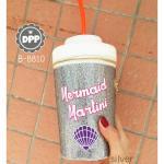 กระเป๋าสะพายแฟชั่น สไตล์ Mermaid martini cross body By SKINNY DIP London สุดเก๋ กระเป๋าทรงแก้วน้ำ แบรนด์ดังจากลอนดอน วัสดุทำจากหนัง pu คุณภาพดี ลายกลิตเตอร์ แต่งรูปเปลือกหอย น่ารักมากๆ งานสวย สะพายเก๋ๆ ได้ทุกชุด สีชมพู เงิน ขนาด กว้าง 11 cm ยาว 11 cm สูง