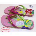 รองเท้าแตะแฟชั่น แบบหนีบ สไตล์ havaianas สกรีนลายดอกไม้สีสดใส วัสดุยางอย่างดีนิ่มยืดหยุ่น สวยเก๋ ใส่สบาย แมทสวยได้ทุกชุด