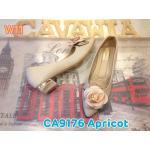 รองเท้าคัทชู ส้นเตี้ย แต่งดอกกุหลาบสวยหรู ส้นเงาแต่งขอบทองดูดี หนังนิ่มใส่สบาย ส้นสูงประมาณ 1.5 นิ้ว ทรงสวย แมทสวยได้ทุกชุด (CA9176)