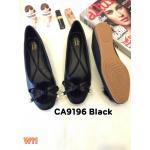 รองเท้าคัทชู ส้นแบน แต่งเฟอร์นุ่มและโบว์สวยน่ารัก ทรงสวย หนังนิ่ม ใส่สบาย แมทสวยได้ทุกชุด (CA9196)