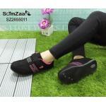 รองเท้าผ้าใบแฟชั่น สวยเก๋ หนังอย่างดี แต่งลายด้านข้าง ทรงสวยเก็บเท้าเรียว บุขอบนุ่ม ดูดีมีสไตล์ สายคาดแบบเมจิกเทป ใส่ง่าย ใส่สบาย ใส่ชิว ใส่เที่ยวได้ เก๋ทุกชุด (SZ2655011)