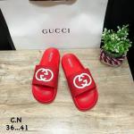 รองเท้าแตะแฟชั่น แบบสวม แต่งลาย GG สไตล์กุชชี่สวยเก๋ วัสดูอย่างดี หนังนิ่ม พื้นยางนิ่มยืดหยุ่น ทรงสวย ใส่สบาย แมทสวยได้ทุกชุด