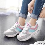 รองเท้าผ้าใบแฟชั่น แต่งลายสวยเก๋สไตล์เกาหลี ผูกเชือกหน้า วัสดุอย่างดี ทรงสวย ใส่สบาย ใส่เที่ยว ออกกำลังกาย แมทสวยเท่ห์ได้ทุกชุด
