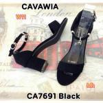 รองเท้าแฟชั่น ส้นสูง แบบสวม รัดข้อ แต่งอะไหล่กุญแจเก่น่ารัก ส้นตัดสูงประมาณ 2.5 นิ้ว ใส่สบาย แมทเก๋ได้ทุกชุด (CA7691)