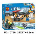 เลโก้จีน Bela.10750 ชุด City Coast Guard Starter