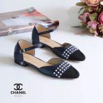 รองเท้าคัทชู ส้นแบน รัดส้น สวยเก๋ แต่งมุกด้านหน้า และอะไหล่ทองที่ส้น สายรัดตัขอเกี่ยว ใส่ง่าย ใส่สบาย แมทสวยได้ทุกชุด (94323)