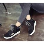 รองเท้าผ้าใบ งานนำเข้า หุ้มข้อ สไตล์เกาหลีเก๋สุดๆ งานทรงสวยมาก ใส่ไป เที่ยวหน้าหนาวได้ ด้านหน้ามีรูระบายอากาศไม่อับ พื้นยางกันลื่นอย่างดี งาน สวยชิค ดูดีมีสไตล์ สีดำ ครีม