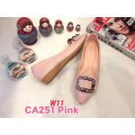 รองเท้าคัทชู ส้นแบน แต่งอะไหล่สวยหรู หนังนิ่ม ทรงสวย ใส่สบาย แมทสวยได้ทุกชุด (CA251)
