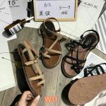 รองเท้าแตะแฟชั่น แบบสวม รัดส้น ดีไซน์เก๋หนังเส้นสาน ใส่สบาย แมทสวยได้ทุกชุด