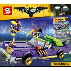 เลโก้จีน SY.946 ชุด The Joker's Notorious Lowrider