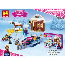 เลโก้จีน LELE79276 ชุด Princess Frozen Anna & Kristoff's Sleigh Adventure