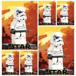 เลโก้จีน SW.691 ชุด Stormtrooper (สินค้ามือ 1 ไม่มีกล่อง)