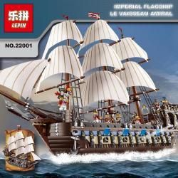 เลโก้จีน LEPIN 22001 ชุด Imperial Flagship Le Vaisseau Amiral