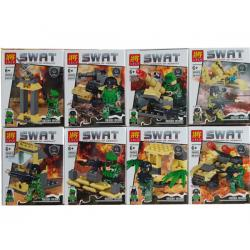 เลโก้จีน LELE.36002 ชุด SWAT The Mission Of Assault