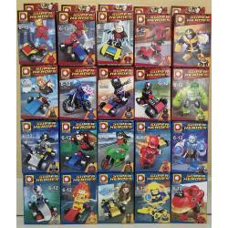 เลโก้จีน DLP.9072 ชุด Heroes assemble