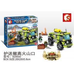 เลโก้จีน SD.9550 ชุด City Rescue Team