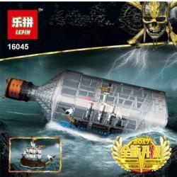 เลโก้จีน LEPIN.16045 ชุด Pirates of the Caribbean The Ship In The Bottle