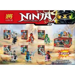 เลโก้จีน LELE79340 ชุด Ninja Go+จักรยาน