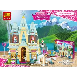 เลโก้จีน LELE.79277 ชุด Princess Arendelle Castle Celebration