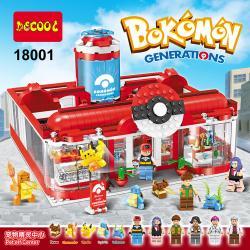 เลโก้จีน Decool18001 ชุด Pokemon Generations