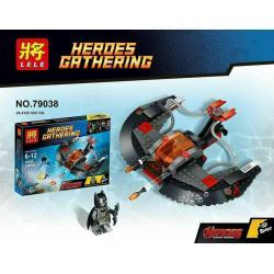 เลโก้จีน LELE 79038 ชุด Batman เรือดำน้ำ