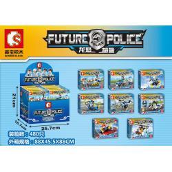 เลโก้จีน SD.9164-9171 ชุด Future Police