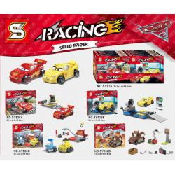 เลโก้จีน SY.936 A-D ชุด Car3 Racing Speed Racer