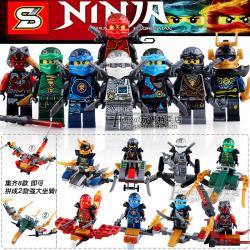 เลโก้จีน SY.633 ชุด Ninja Go