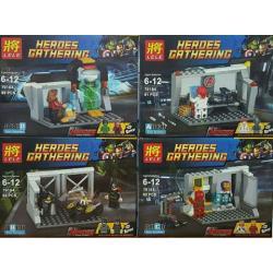 เลโก้จีน LELE 79184 A-D ชุด Heroes Gathering
