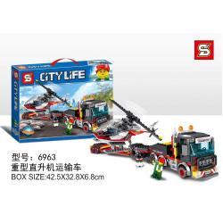 เลโก้จีน SY.6963 ชุด Heavy Cargo Transport