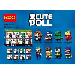 เลโก้จีน Decool.6815-6822 ชุด Cute Doll