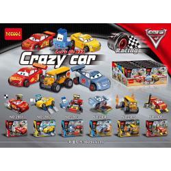 เลโก้จีน Decool.2901-2906 ชุด Car3 Crazy Car