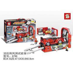 เลโก้จีน SY.6786 ชุด Fast Champions