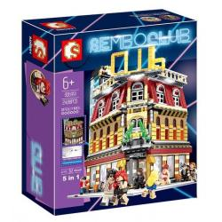 เลโก้จีน SemboBlock SD.6991 ชุด Sembo Club 5in1 (มีไฟ)