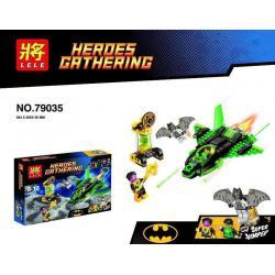 เลโก้จีน LELE 79035 ชุด Green Lantern